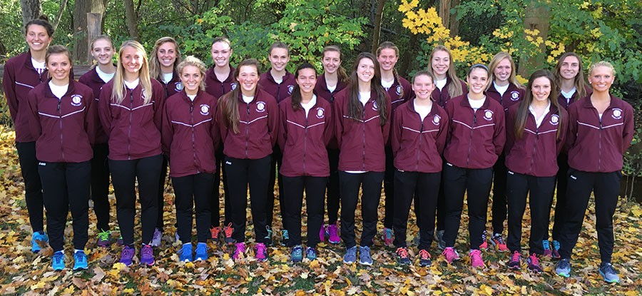 2016 Women's Cross Country Team Photo