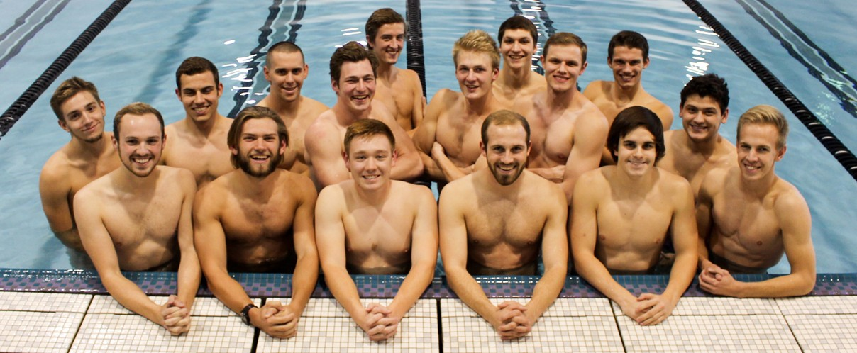 2016-17 Men's Swimming Team Photo