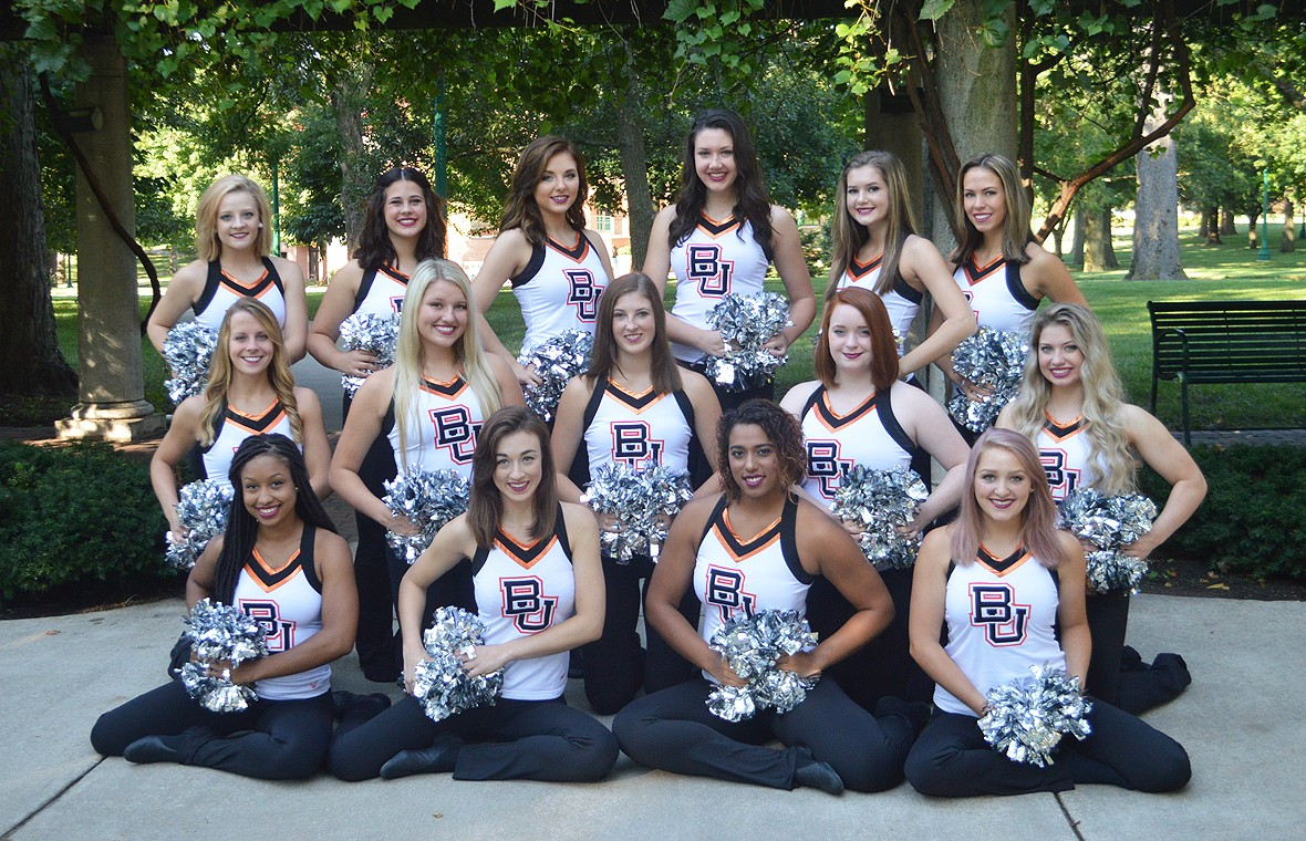 2016-17 Dance Team Photo