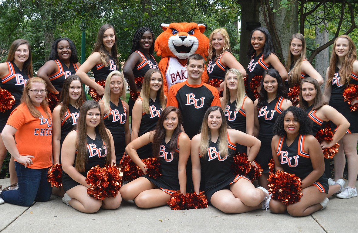 2017-18 Cheer Team Photo