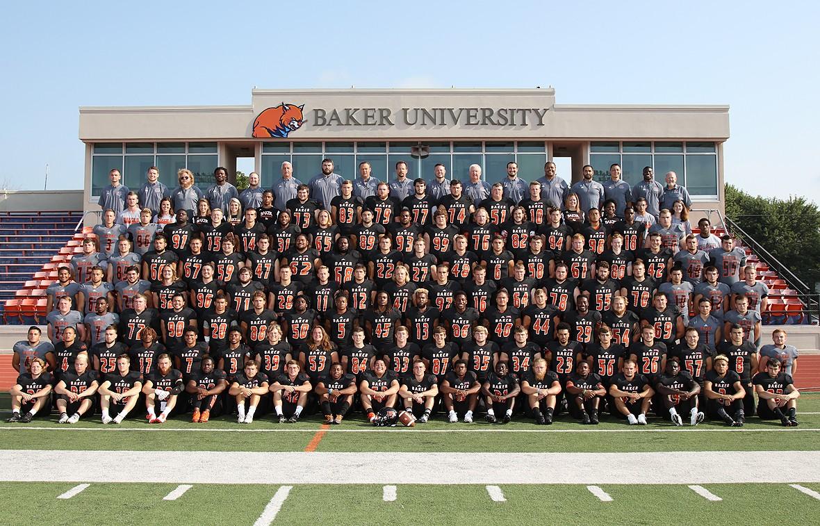 Baker University 2017 Football Roster