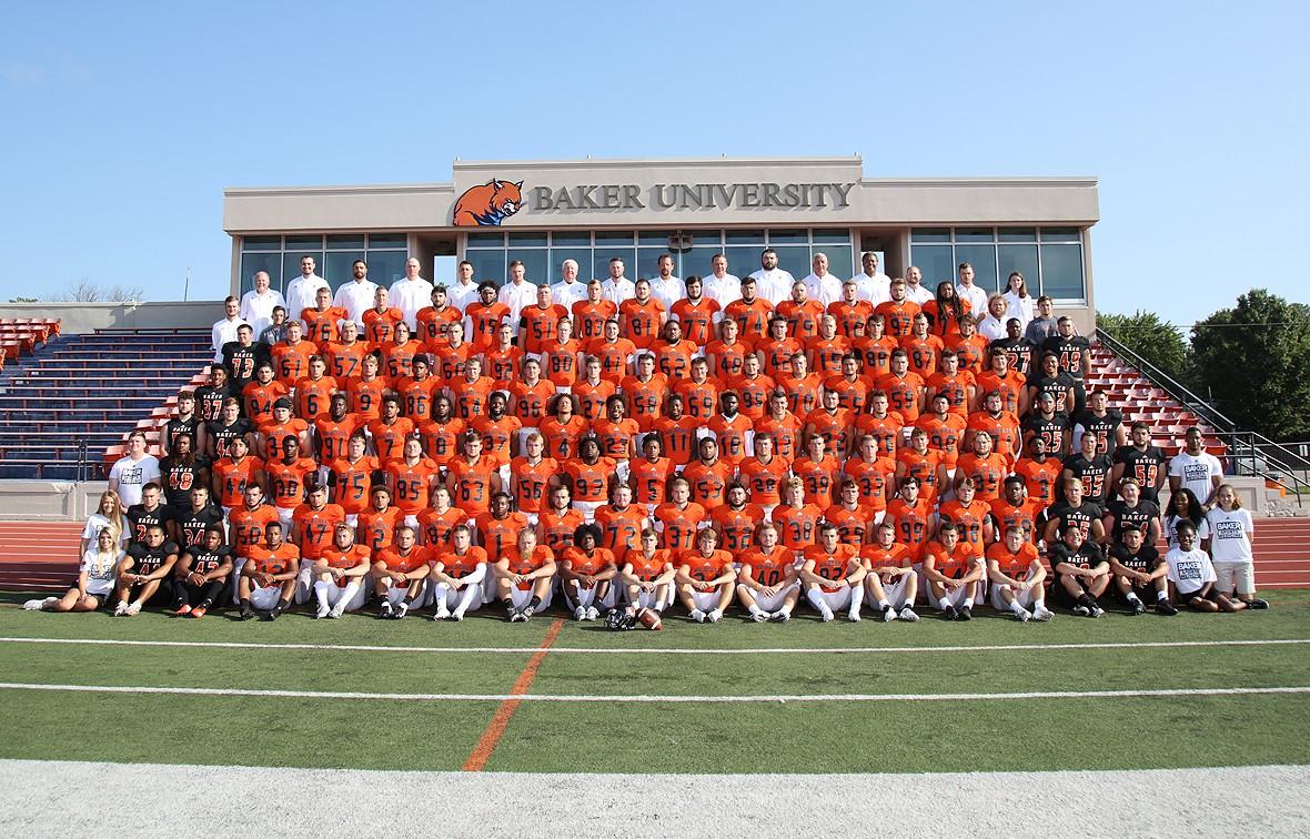 Baker University 2018 Football Roster