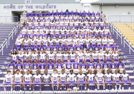 2017 Football Roster Team Photo