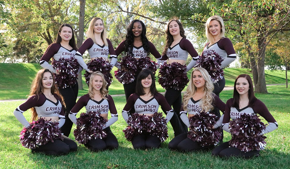 2016-17 Competitive Dance Team Photo