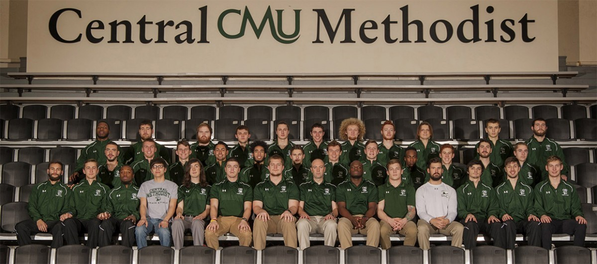 2017 Men's Outdoor Track & Field Team Photo