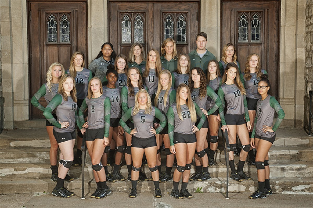2016 Volleyball Team Photo