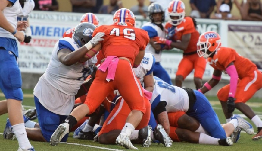 Late Defensive Stand Helps Football To Division Win Over Faulkner