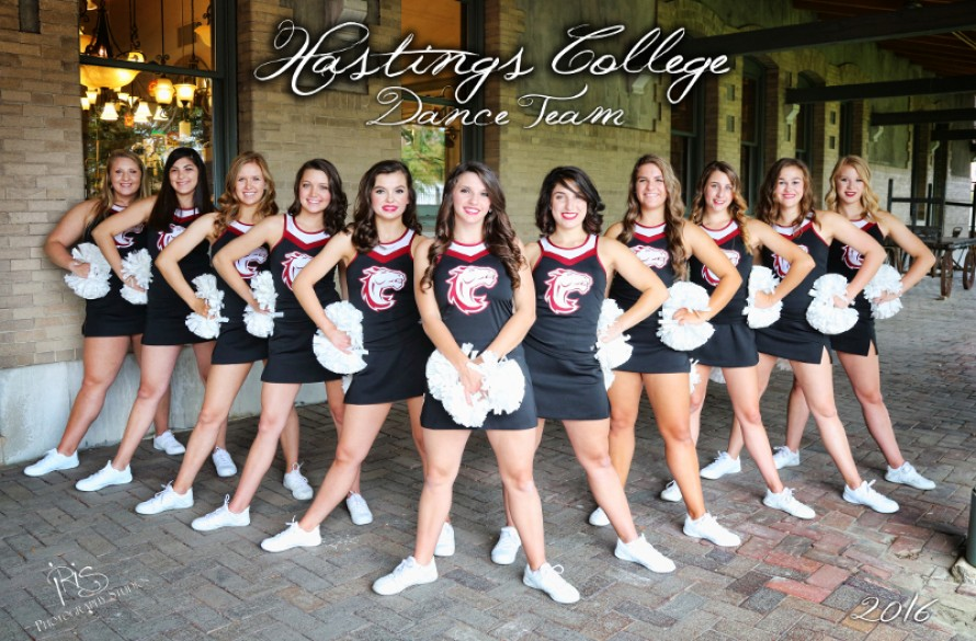 2017-18 Dance Team Photo