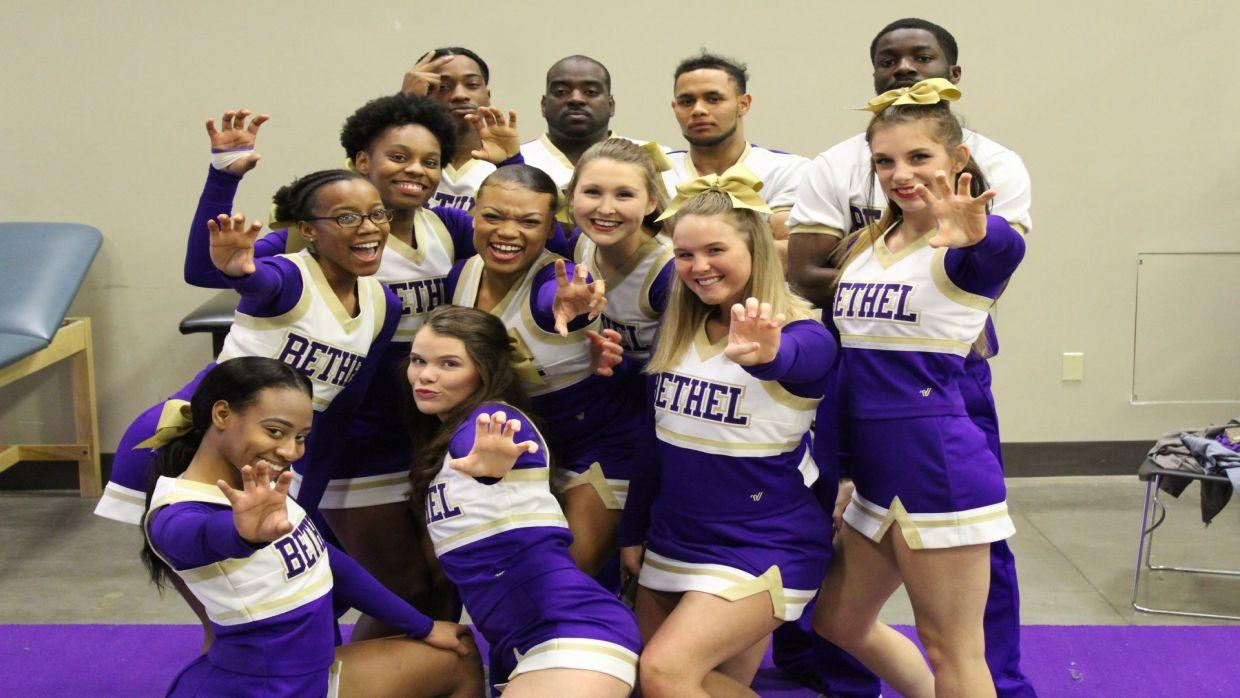 2018 19 cheerleading bethel university athletics