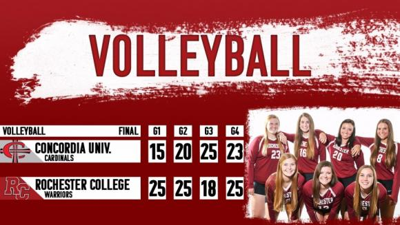 2018 volleyball rochester college athletics athletics