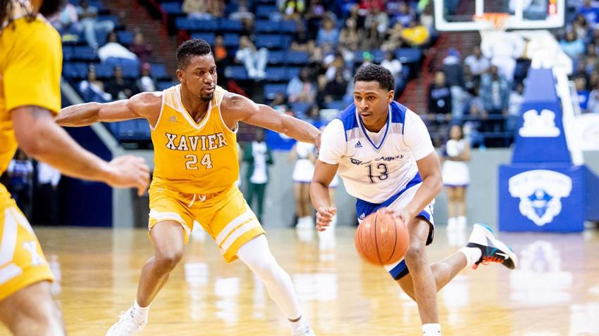 Xavier vs Dillard basketball