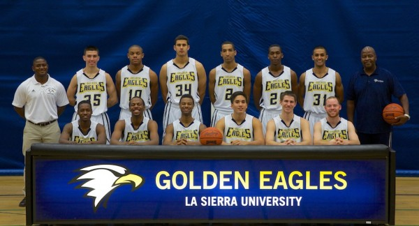 2013-14 Men's Basketball Team Photo