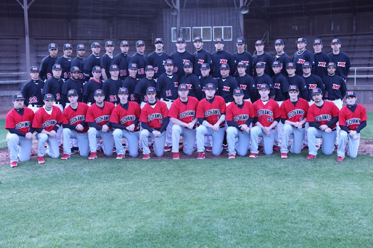 2012 Baseball Team Photo