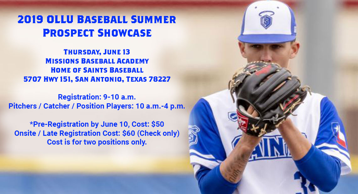 Photo for OLLU to host Baseball Summer Prospect Showcase on June 13