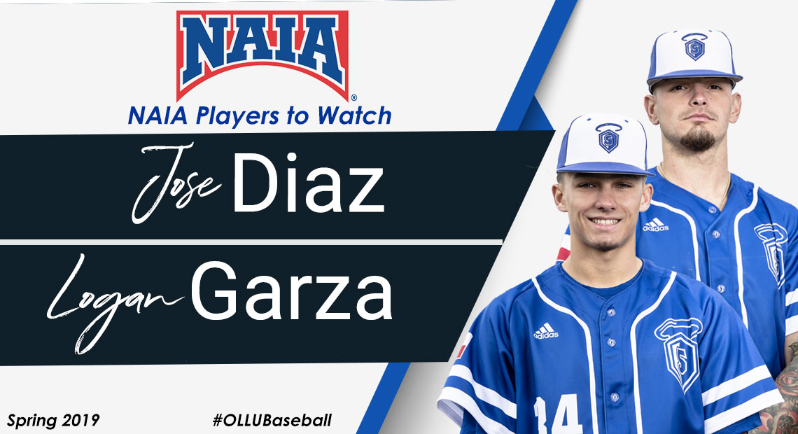 Photo for Logan Garza and Jose Diaz selected as NAIA Players to Watch
