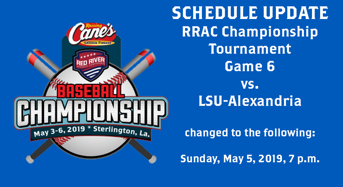 Photo for RRAC Championship Tournament: Saints baseball game moved to Sunday, May 5