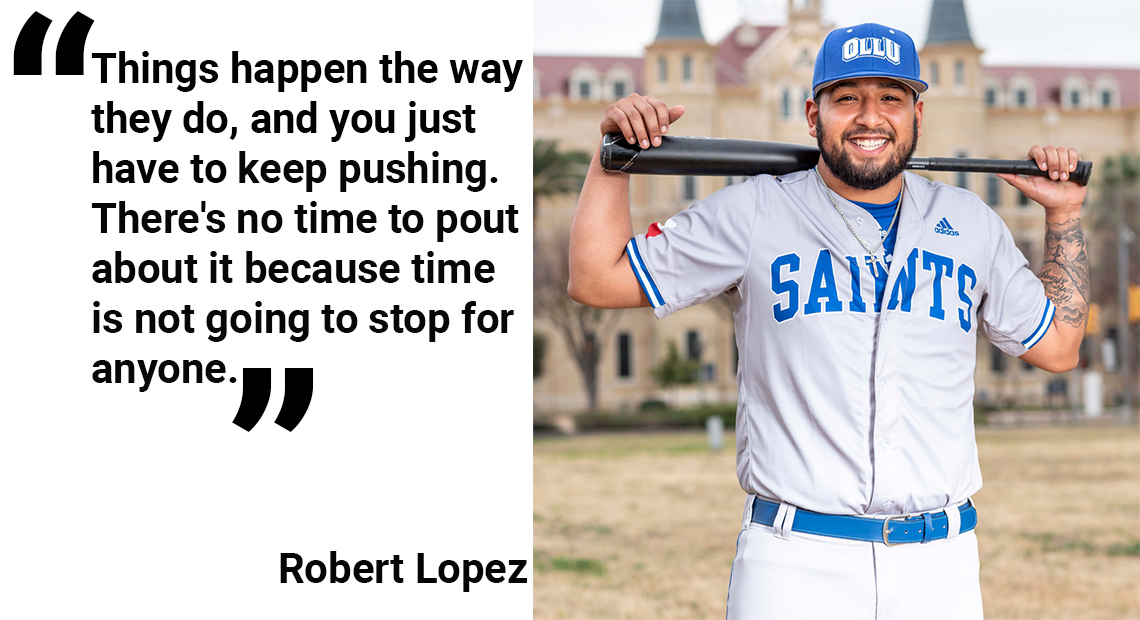Photo for OLLU Senior Spotlight: Robert Lopez