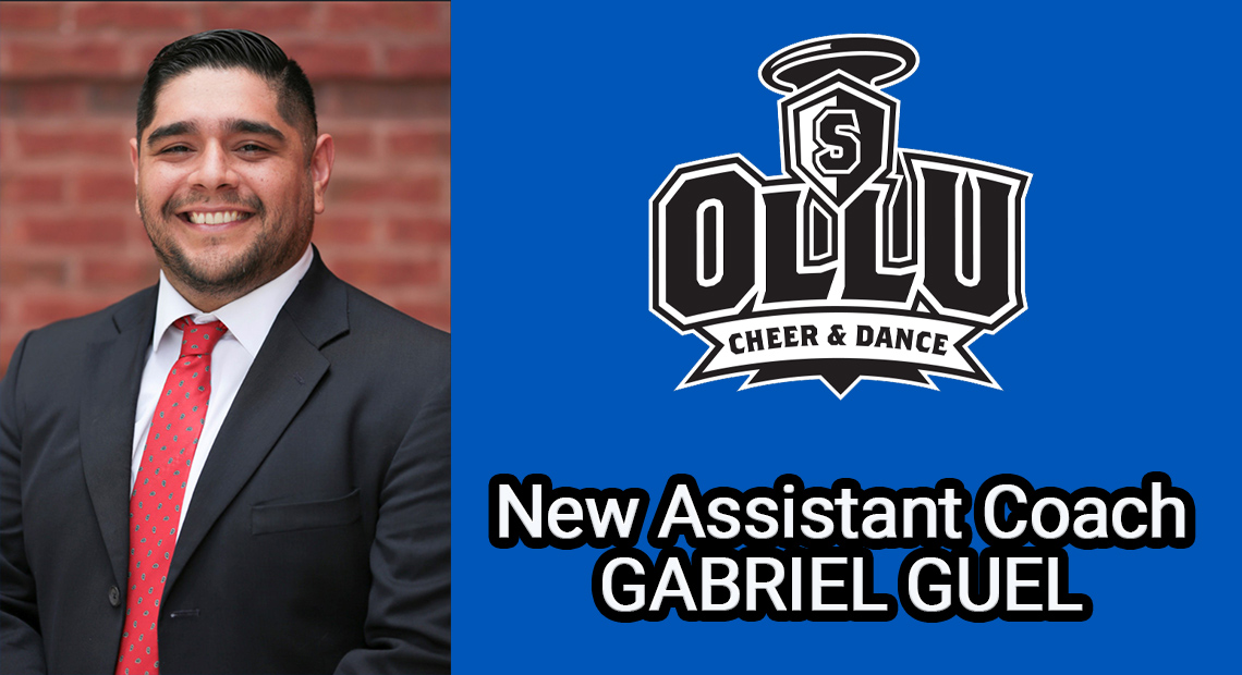 Photo for OLLU cheer and dance welcome Gabriel Guel as assistant coach