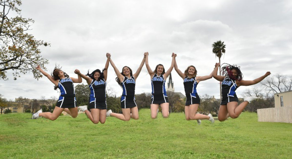 Photo for OLLU Saints Cheer are set for the spring