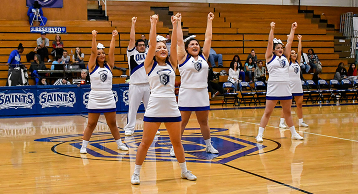 Photo for OLLU to hold cheer clinic for those ages 5-18