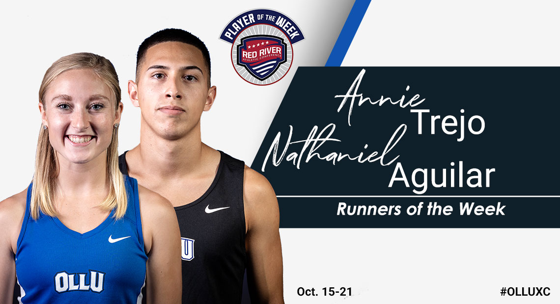 Photo for OLLU's Trejo and Aguilar sweep RRAC Runners of the Week awards