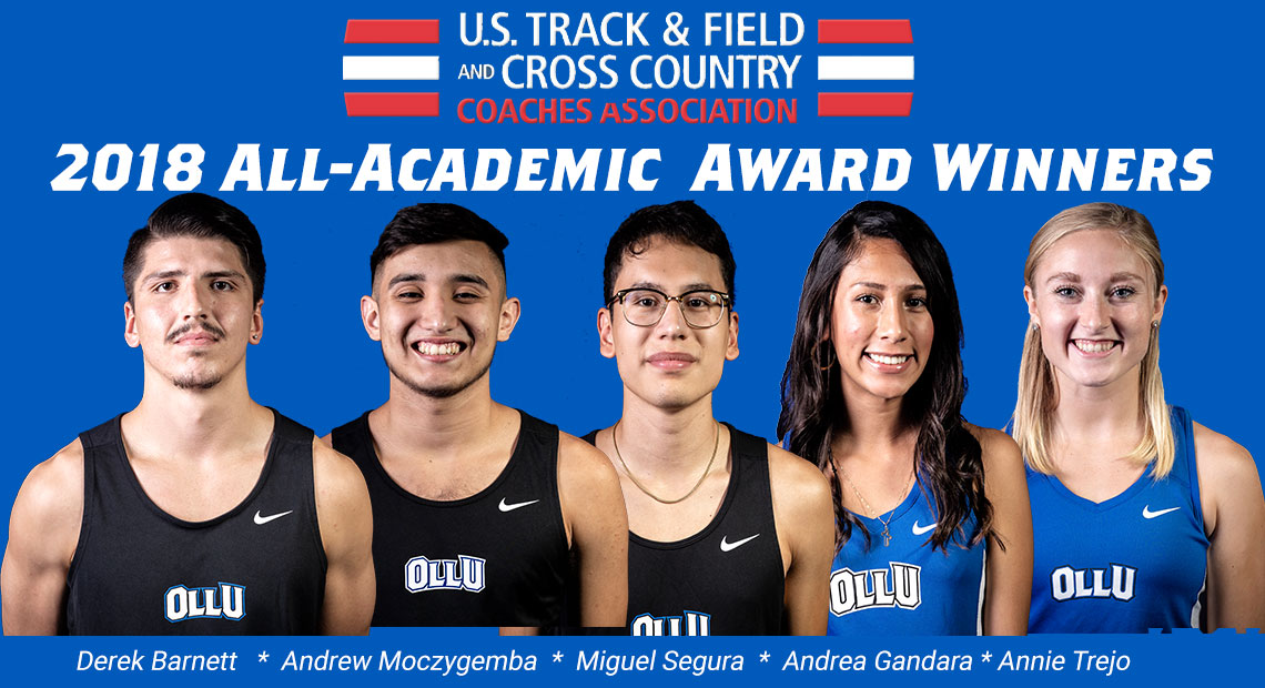 Photo for Five from OLLU earn academic awards from U.S. Track and Field and Cross-Country Coaches Association
