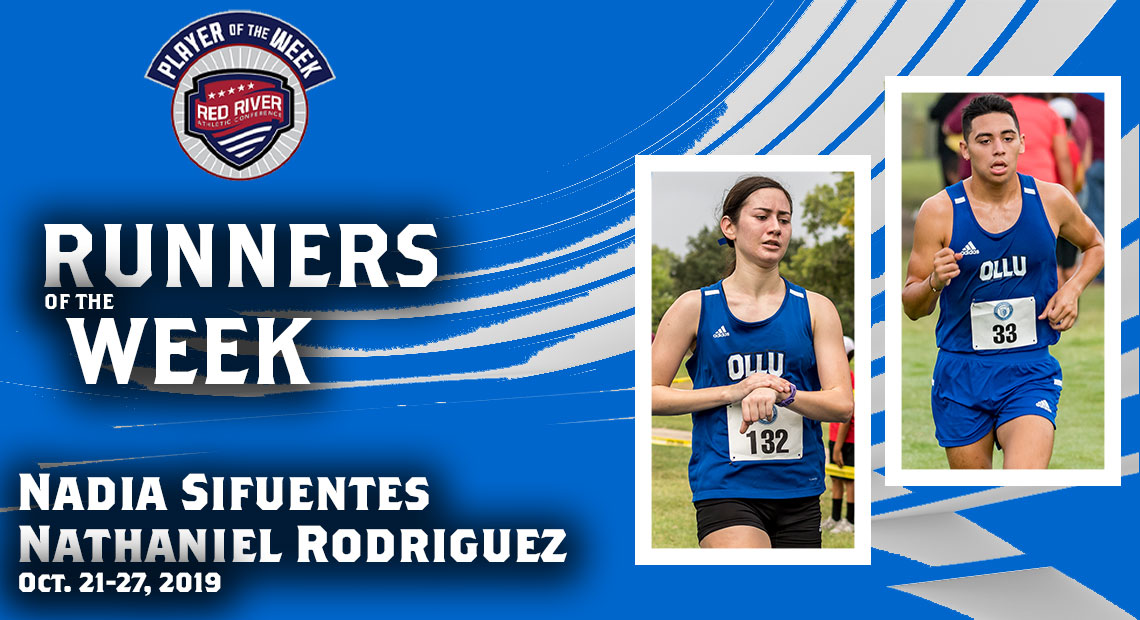 Photo for OLLU's Sifuentes and Rodriguez earn conference cross-country awards