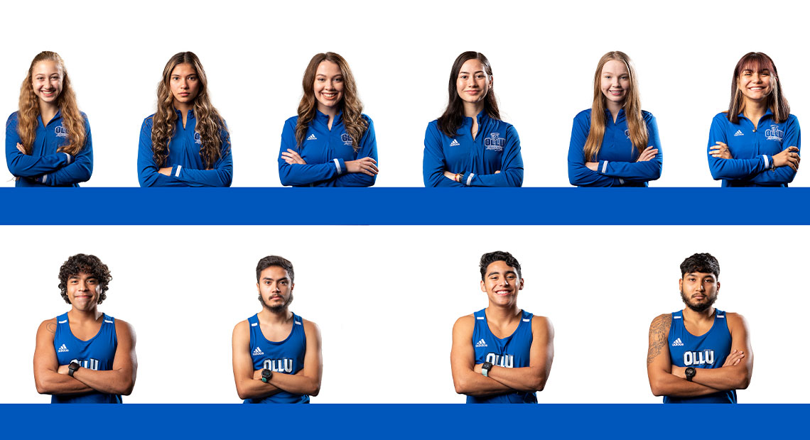 Pictured are returners from cross-country and track and field.