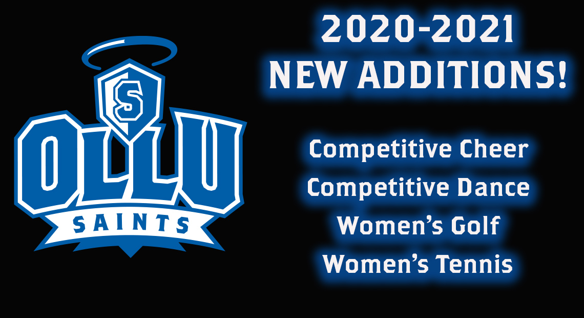 Photo for OLLU athletics will add competitive cheer and dance, women's golf and tennis teams