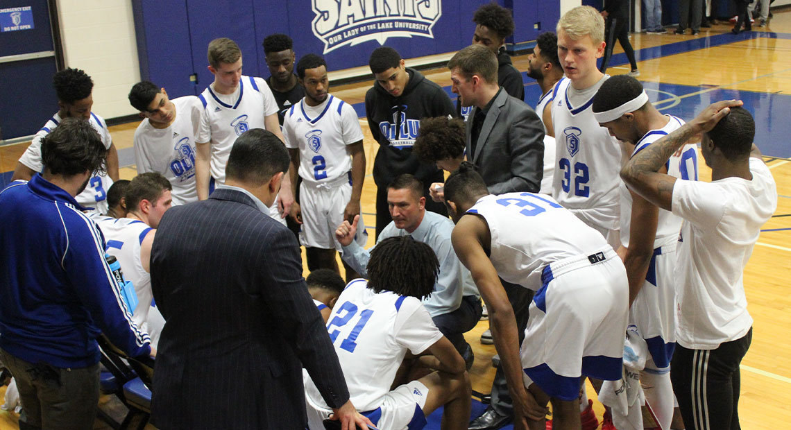Photo for Saints lose to No. 1 NAIA team LSU-Alexandria
