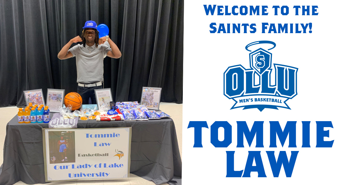 Photo for OLLU welcomes Tommie Law to men's basketball squad