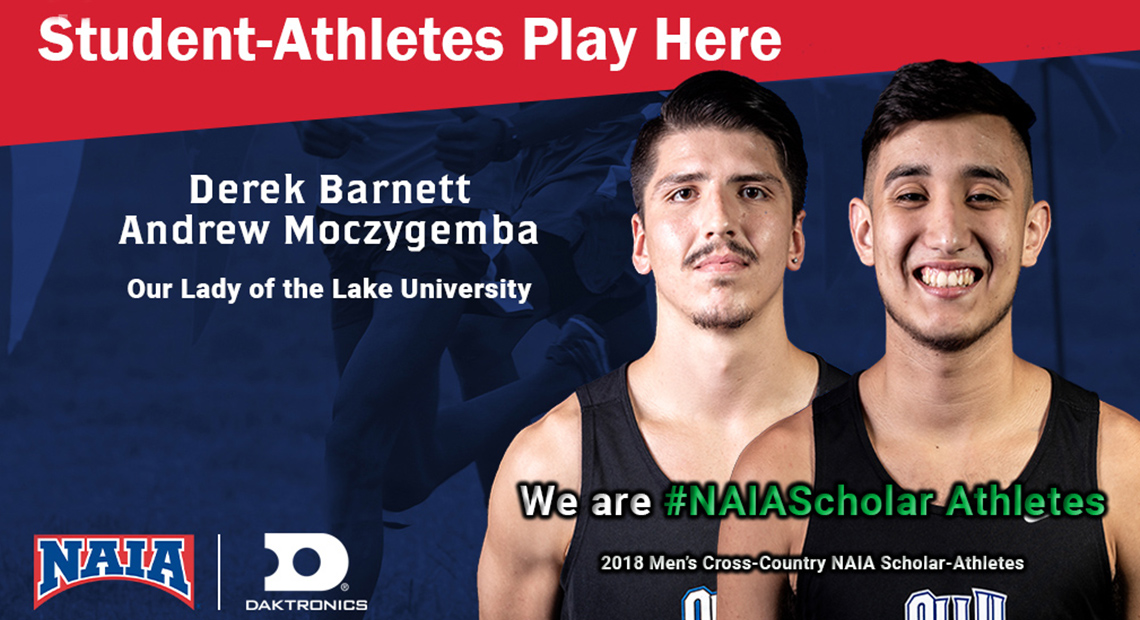 Photo for OLLU's Barnett and Moczygemba earn NAIA Scholar-Athlete recognition