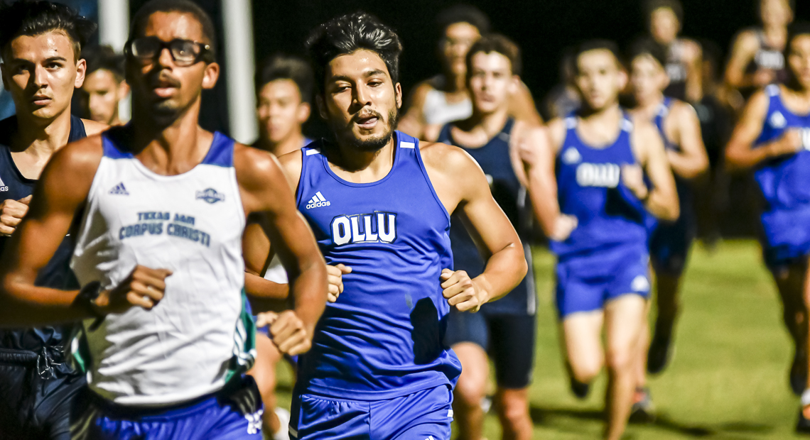 Photo for OLLU men's cross-country runs opening meet at Classics Elite Soccer Complex