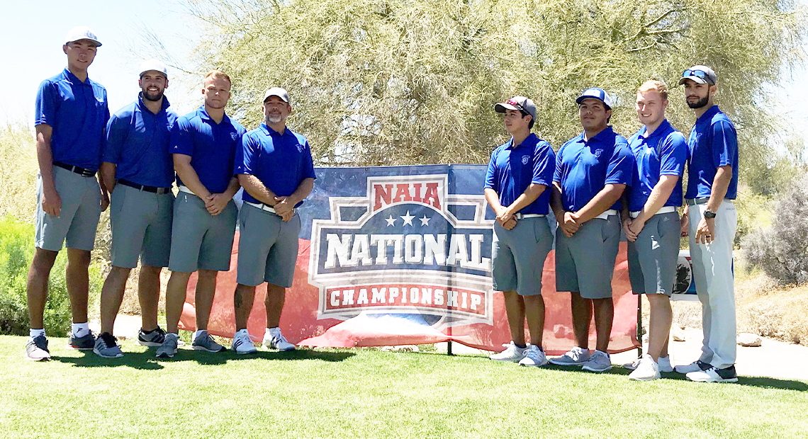 Photo for Steve Landry earns NAIA Ping Regional Team honors after competing in finals of NAIA Nationals