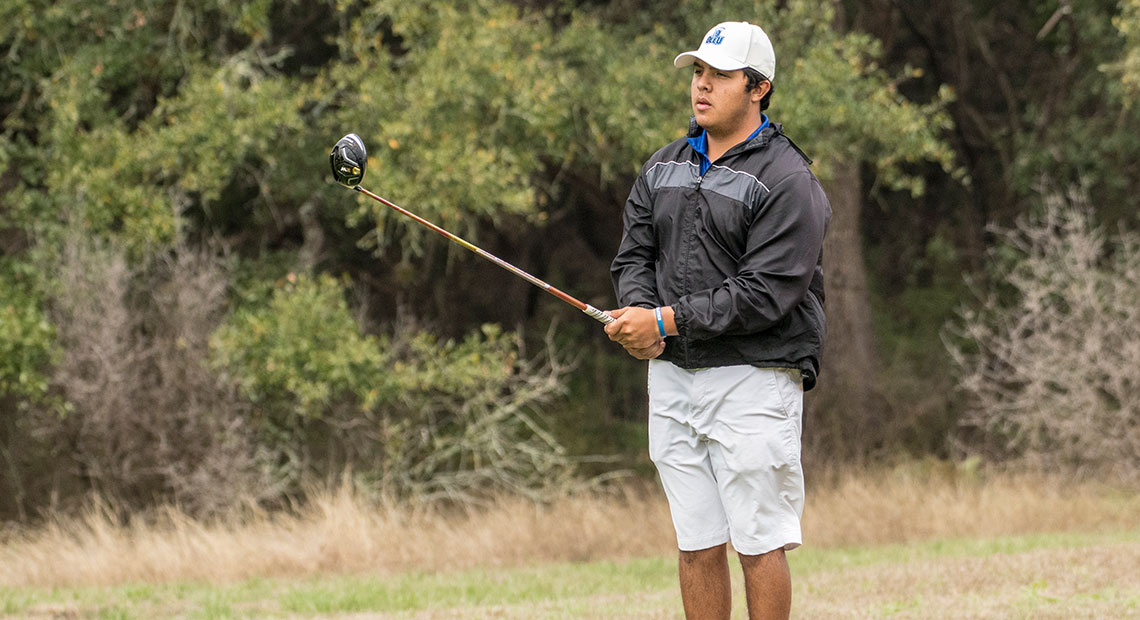 Photo for OLLU's Kane Ybarra finishes one stroke shy from capturing the GSA Men's Championship