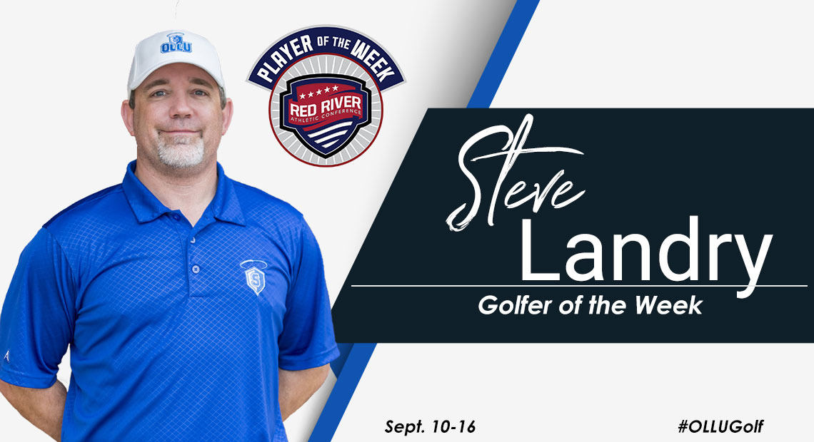 Photo for OLLU's Steve Landry selected as RRAC Golfer of the Week