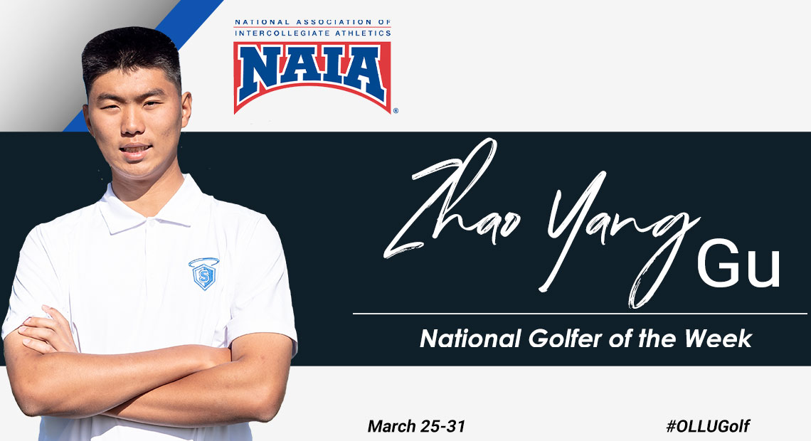Photo for Zhao Yang Gu becomes the fourth player in OLLU history to win National Player of the Week