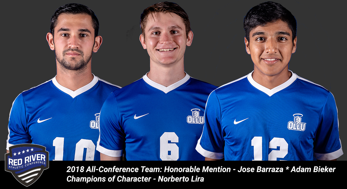 Photo for Three from OLLU selected to RRAC Men's Soccer All-Conference Team