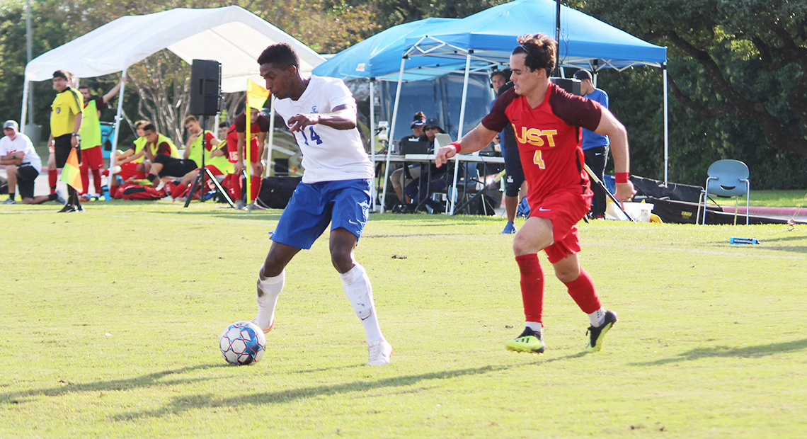 Matheus Campos led the Saints with six shots and a goal.