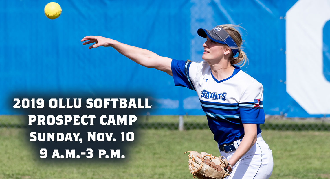 Photo for 2019 OLLU softball prospect camp takes place Nov. 10