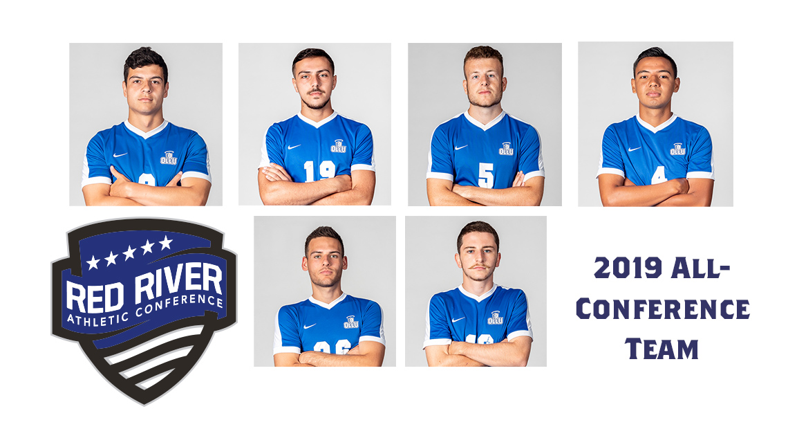 Photo for OLLU men's soccer has six in the All-Conference Team