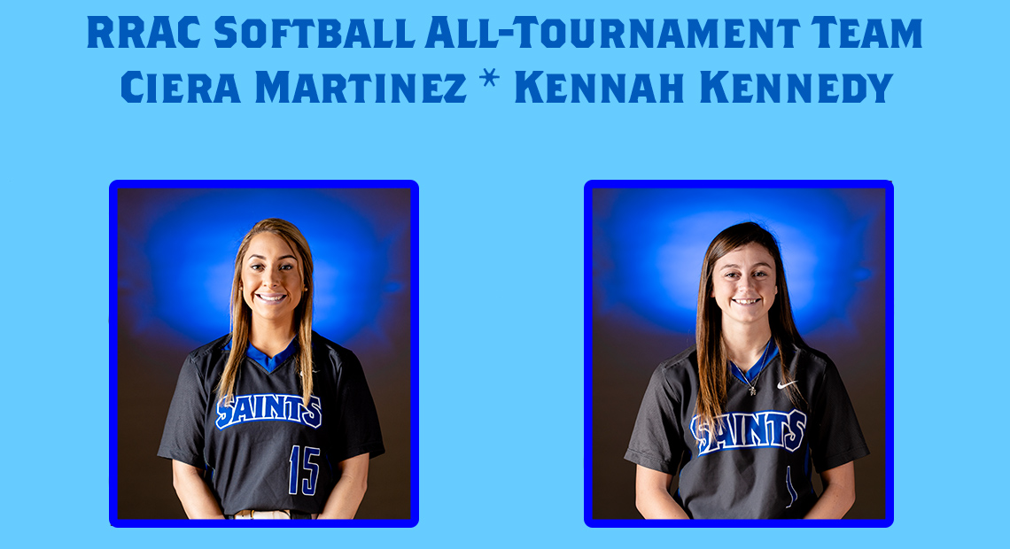 Photo for Ciera Martinez and Kennah Kennedy selected to RRAC All-Tournament Team