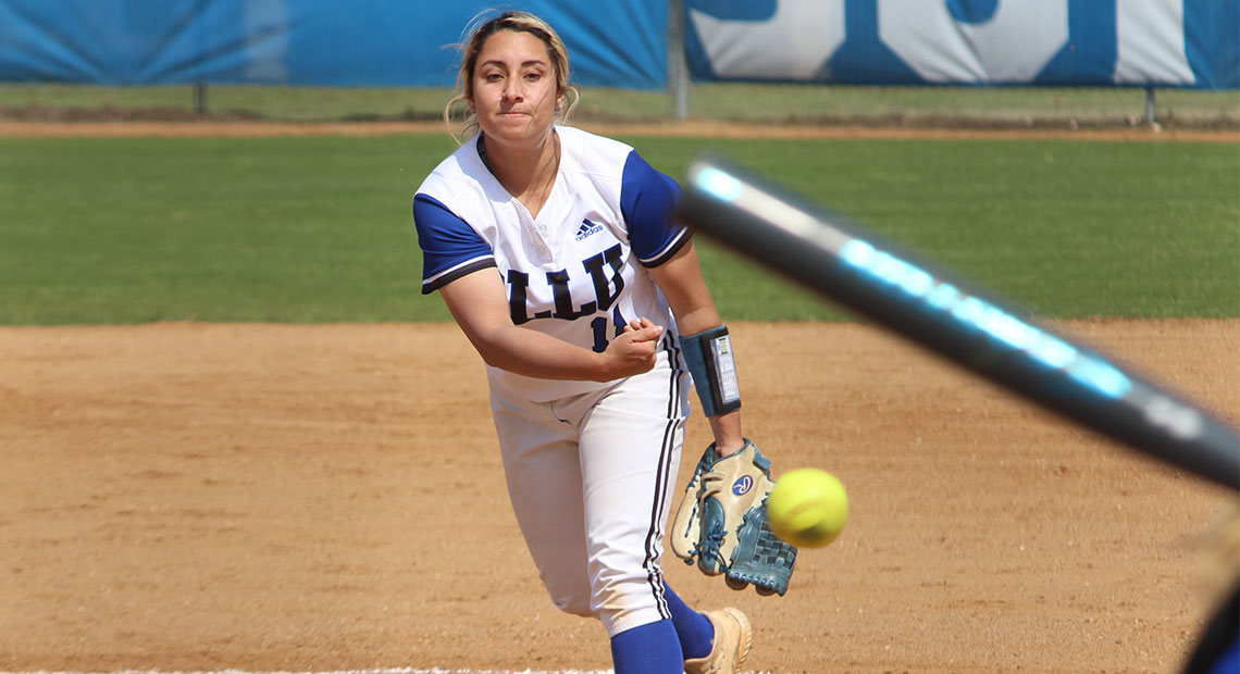 Photo for Ciera Martinez becomes Saints all-time strikeout leader in loss to TAMUT