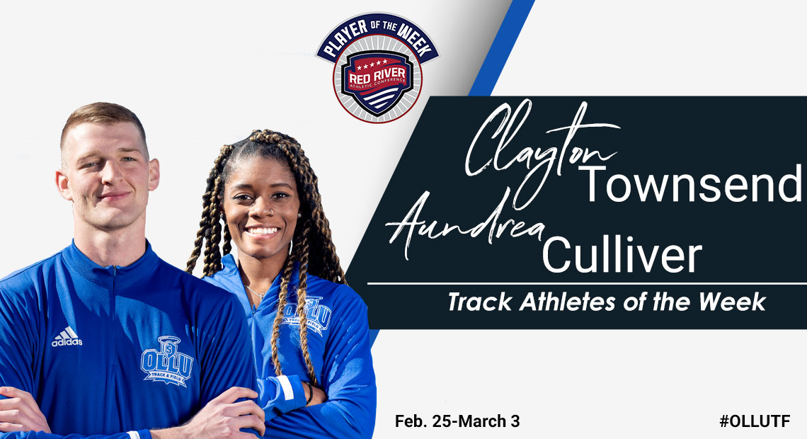 Photo for OLLU's Townsend and Culliver earn Track Athletes of the Week