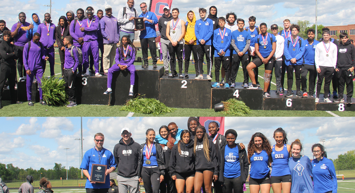 Photo for Both Saints track and field teams place second in conference championships
