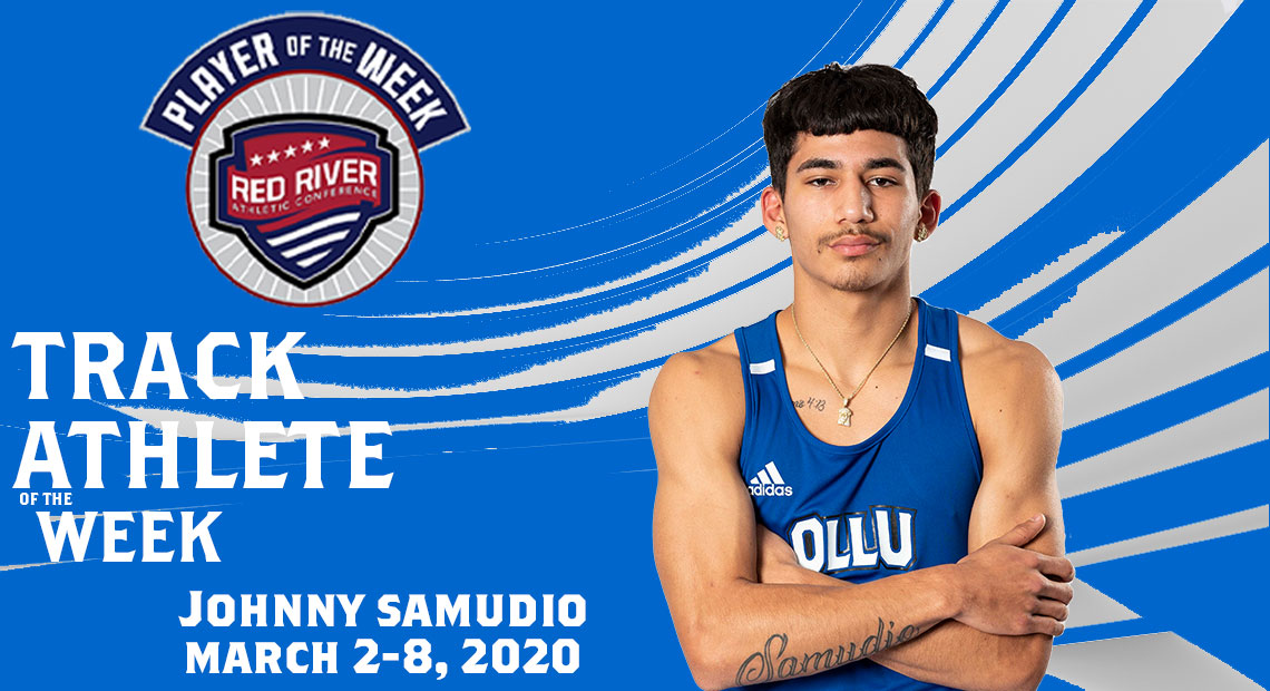 Johnny Samudio earned runner-up in the 800-Meter Run.