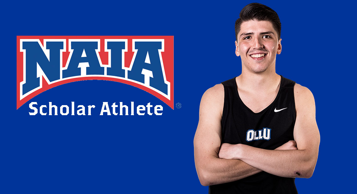 Photo for OLLU's Derek Barnett earns Daktronics-NAIA Scholar Athlete honors in track and field
