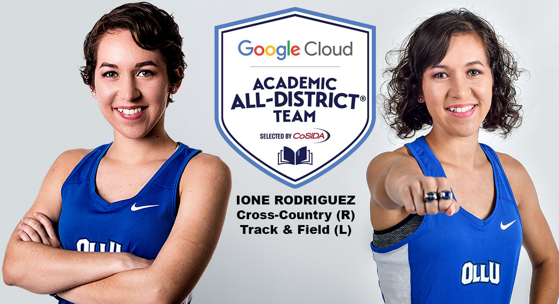 Photo for OLLU's Ione Rodriguez named to Google Cloud Academic All-District Women's Track & Field/Cross-Country team
