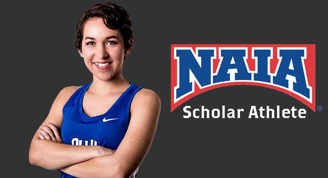 Photo for OLLU track and field's Ione Rodriguez earns Daktronics-NAIA Scholar Athlete honors