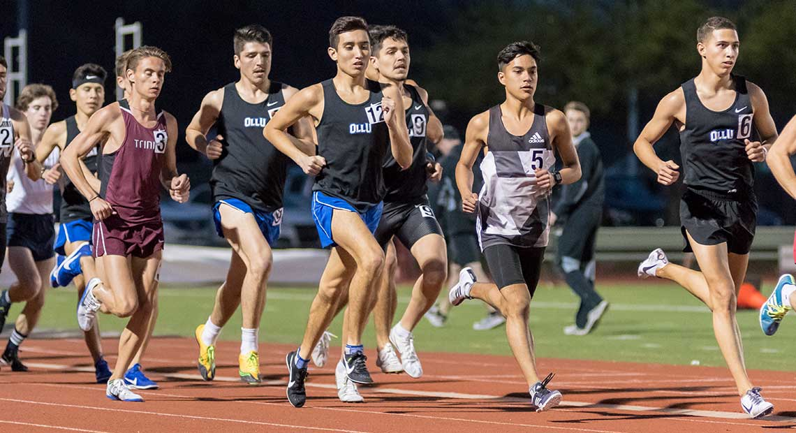 Photo for OLLU men's track and field competes in Tiger Invite
